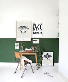 Niets is leuker om een kinderkamer in te richten in de stijl van de rest van het huis. Met kleuren, posters en accessoires maak je net dat verschil.