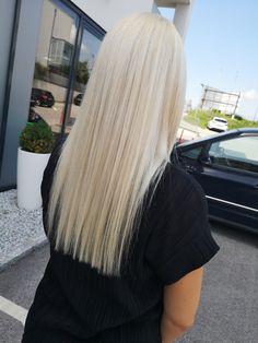 Silver blonde Blonde Hair, Hair Color, Long Hair Styles, Silver, Beauty, Hair, Ideas, Silver Blonde, Silver Hair Colors