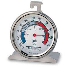 Taylor® Freezer/Refrigerator Thermometer - Range: -20° F to 80° F