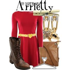 """Arrietty"" by lalakay on Polyvore #disney"
