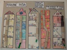 Potrubní pošta - skupinová práce (1. a 2. třída)