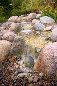 some beautiful pondless waterfalls, outdoor living, ponds water features