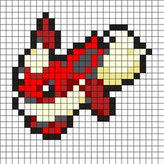 Perler Bead Pokemon Patterns, Pokemon Perler Beads, Diy Perler Beads, Perler Bead Art, Bead Patterns, Pixel Art Templates, Perler Bead Templates, Pearl Beads Pattern, Pokemon Cross Stitch