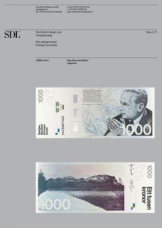 Stockholm Design Lab / Riksbank / The Oblong Country / Bank...