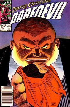The Kingpin, powerful villain, enemy of Daredevil, Spiderman, & the people. Daredevil # 253 by John Romita Jr. & Al Williamson