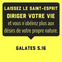 Galates 5: 16