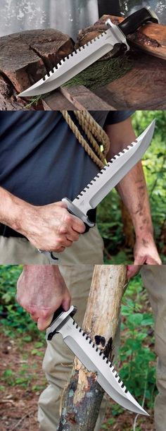 Gil Hibben Extreme Survival Fixed Bowie Knife Blade @thistookmymoney