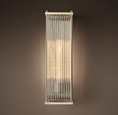 Marais Rectangular Sconce