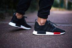 los angeles b87e5 0db15 adidas-nmd-r1-footlocker  sneaker  adidas  onfeet Release  17.03