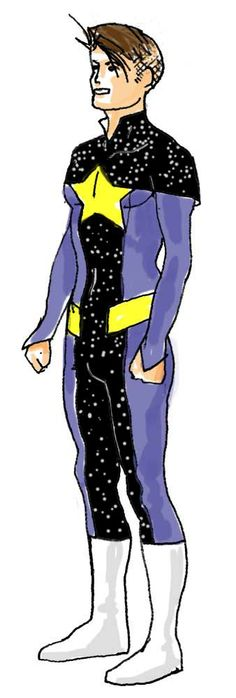 What if the Infinity, Inc. of Earth 2 was its Legion? STAR BOY: Danny Blaine (the alias used by Thom Kallor in the 21st century).