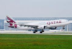 Qatar Airways Airbus A330 A7-ACC | MUC, 04.09.2010 | Klaus Brandmaier | Flickr