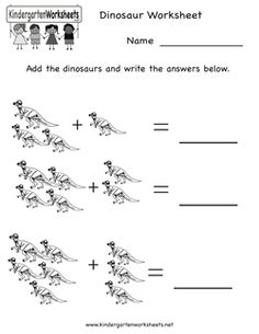 Dinosaur Worksheet
