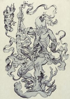 Seppuku by James Jean