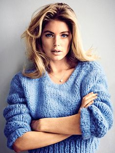 Doutzen Kroes | The face of Calvin Klein's latest fragrance, Reveal, shares the real her.
