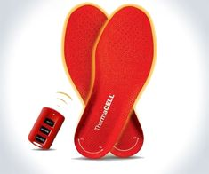 Rechargeable Heated Insoles. Idk when you would use them, but when you did, I bet the were amazing!!!