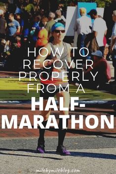 It's so important to recover properly from half-marathon, or any hard race. Follow these tips to recover properly and return to running smoothly. Check out this half-marathon recovery plan to make sure you are on track to recover from your half-marathon! #running #race #recovery Running Songs, Running Humor, Running Motivation, Running Workouts, Running Training, Running Race, Running Gear, Fitness Motivation, Half Marathon Recovery