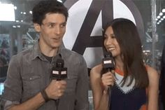 His loving smile – Marvel's live interview of Humans at NYCC 2016