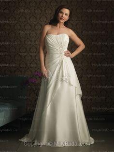 simple pretty wedding dress