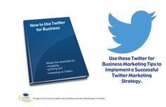 Proven Strategies for Using Twitter to Grow Business    Tweeting is about more than just dashing off one-liners in 140 characters or less. To be successful, you need to know all the ins and outs of Twitter. Here are ten Twitter best practices that will help your business get an edge over your competitors. (Click image to read article.)    If you are new to social media or you're looking for benchmarks to know if you're on track, our Social Media Resource Guide will help bring you up to speed
