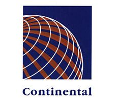 Continental Airlines logo- one of my favs airlines before the merge. Commercial Plane, American Air, Airline Logo, Flight Attendant Life, Passenger Aircraft, By Plane, United Airlines, Aircraft Design, Logo Sticker