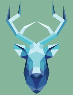 geometric ART on Pinterest | Geometric Animal, Low Poly and ...