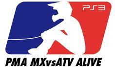 Logo Design  MX vs ATV ALIVE PS3 Logo