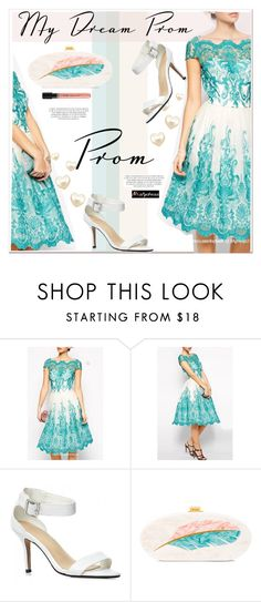 """""""Prom Do-Over: Your New Dream Dress"""" by paculi ❤ liked on Polyvore featuring Edie Parker, promdoover and nastydress"""