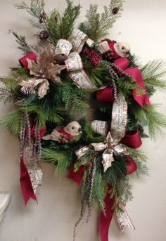 Christmas wreath at Something Special