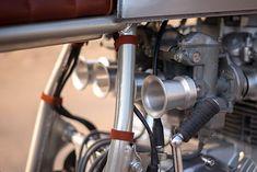 Cafe Racer Honda, Cafe Racer Build, Cafe Racers, Cb550, Cafe Racer Style, Old Bikes, Honda Motorcycles, Kustom, Ideas Para