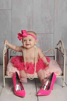 Big Hot Pink Hair Bow Headband
