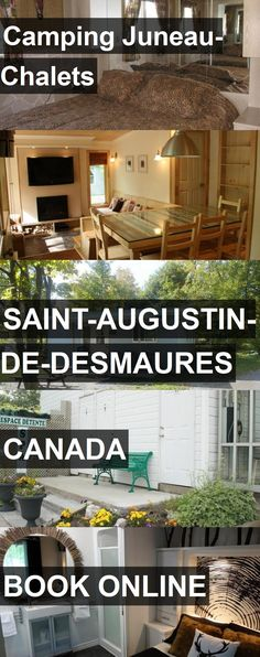 Hotel Camping Juneau-Chalets in Saint-Augustin-de-Desmaures, Canada. For more information, photos, reviews and best prices please follow the link. #Canada #Saint-Augustin-de-Desmaures #hotel #travel #vacation