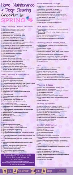 How To Enjoy Deep Cleaning Your House  Free Checklist  Cleaning