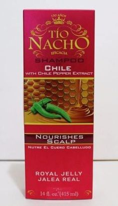 Tio Nacho Nourishes Scalp Chile Shampoo 14 Ounce With Chile Pepper Extract