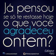 #gratidão #frases #pensamentos