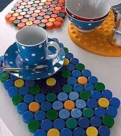 set de table bouchon