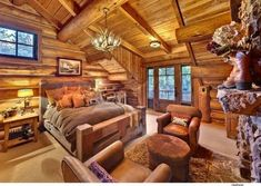rustic bedroom decorating idea 30