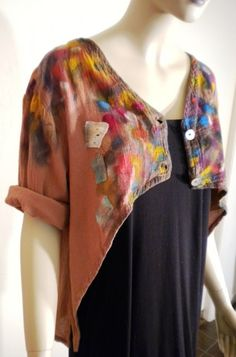 Love the jacket - colors and cut.  Wholesale Reserve Cherish Boutique by VonksArt on Etsy