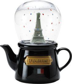 tea snowdome from Paris