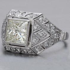 vintage diamond-gorgeous!
