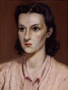 Retrato de Maria (1941)  by Candido Portinari (Brazilian 1903-1962)