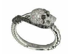 Stephen Webster Skull Ring