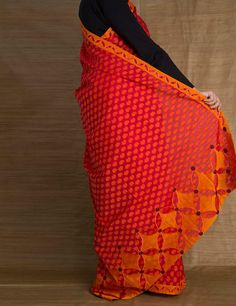 cotton cutwork sarees - Google Search