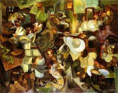 Pablo Picasso — artist-henrilf:   Mountaineers Attacked by Bears,...