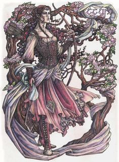 Spring wind by Righon on deviantART Irime Lalwende (Lalwen).  She was Noldo, daughter of Finwë, king of the Noldor, and Indis; sister of Findis, Fingolfin and Finarfin and half-sister of Fëanor