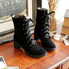 6d000c3d Botas Femininas, Moda, Botas De Moda De Invierno, Zapatos De Invierno,  Zapatos