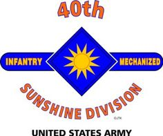 "Amazon.com: 40TH INFANTRY DIVISION ""SUNSHINE DIVISION "" U.S. MILITARY CAMPAIGNS LAMINATED PRINT ON 18"" x 24"" QUARTER INCH THICK POSTER BOARD: Everything Else"