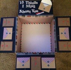 DIY Gifts Box-Where can I find envelopes like this / find the l .- DIY Gifts Box-Wo finde ich Umschläge wie diese / finde das Luftpost-Kunsthandwe… DIY Gifts Box-Where can I find envelopes like these / find the Airmail Crafts a gift to craft # gifts - Missionary Packages, Deployment Care Packages, Deployment Gifts, Military Care Packages, Boyfriend Care Packages, Care Package Boyfriend, College Care Packages, Military Deployment, Care Package Decorating