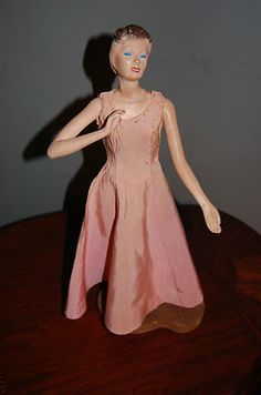 """VINTAGE 18"""" COMPOSITION MANNEQUIN DOLL SEWING LATEXTURE"""