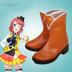 Wholesale cheap shoe stretcher boots online, product type - Find best wholesale-love live! nishikino maki cosplay shoes boots professional handmade ! perfect custom for you ! at discount prices from Chinese costume accessories supplier - bhuihua on DHgate.com.