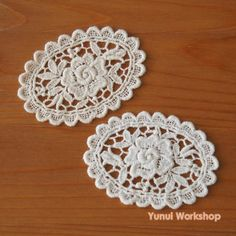 Hey, I found this really awesome Etsy listing at https://www.etsy.com/listing/509236219/2pcs-antique-rose-pattern-cotton-lace